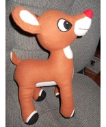 """Rudolph the Red Nosed Reindeer Musical Plush 12"""" Tall Stuffed Animal Toy - $6.94"""