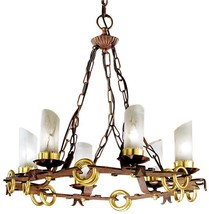Chandelier Pendant DAVID MICHAEL LIGHTING Round 6-Light - $4,699.00
