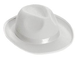 Forum Novelties Men's Novelty Deluxe Fedora Hat, White, One Size - $15.67