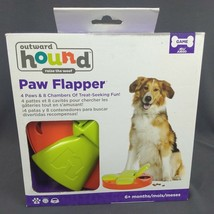 Outward Hound Kyjen 41008 Paw Flapper Treat Toy Animal Dog Toys Scent Pu... - $19.34