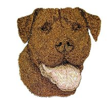 Amazing [American Pit Bull Terrier Dog Face] Embroidery Iron On/Sew patc... - $7.91