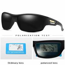 Gafas De Sol Para Hombres, De Moda A Prueba De Viento Polarizadas Estilo Militar - $21.12