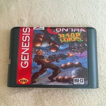 Contra Hard Corps NTSC-U 16bit MD Game Sega Mega Drive Genesis Cartridge Card  - $10.99