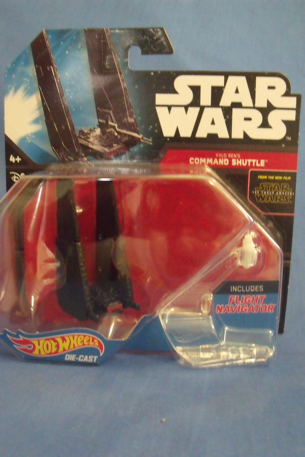 Primary image for Toys NIB Mattel Hot Wheels Disney Star Wars Kylo Rens Command Shuttle