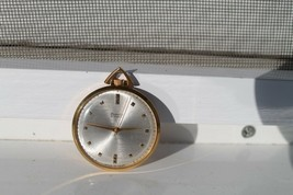 Vintage Old Soviet Russian RAKETA 23Jewels Pocket watch Gold Plated AU 20 - €122,91 EUR