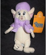 Disney Bianca White Mouse Rescuers Down Under Applause Plush Stuffed Animal - $19.78