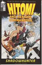 Antarctic Press Hitomi And Her Girl Commandoes #2 Shadowhunter - $1.95