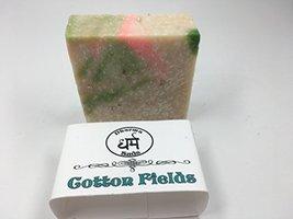Handmade Cold process soap cotton fields scrub 5 oz - $5.93