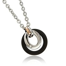 [Napist] Napist Surgical Stainless Steel Necklace Twin Circle Men's - $38.70
