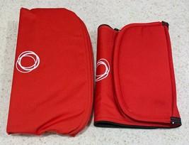 Bugaboo Buffalo Tailored Fabric Set Extendable RED Extendable Sun Canopy... - $99.00
