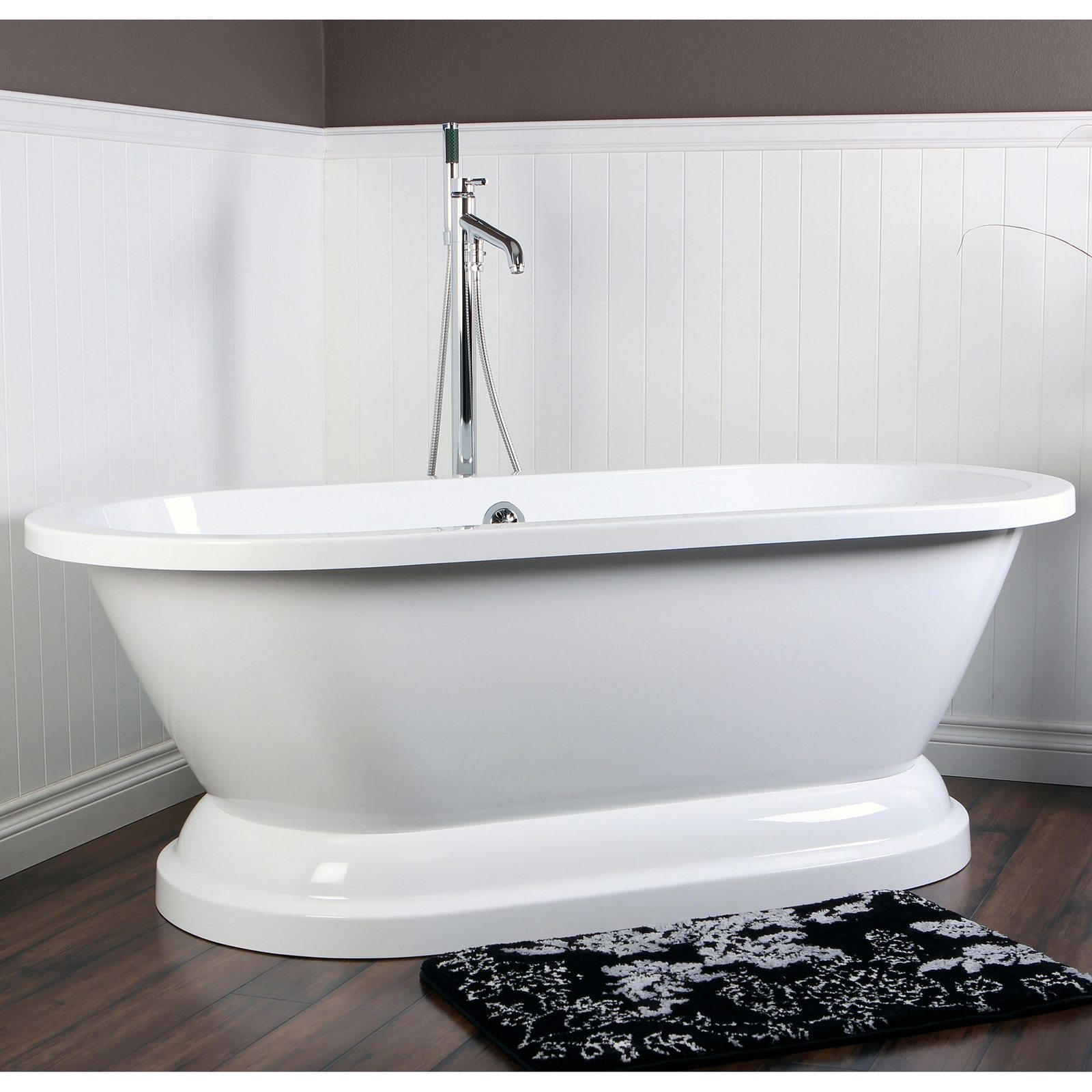 Acrylic Pedestal Bathtub Free Standing and 50 similar items