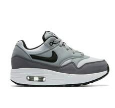 Nike Air Max 1 White Black Wolf Grey Gunsmoke 807603 108 Preschool 2Y - $59.95