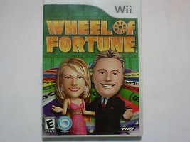 Wheel of Fortune - Nintendo Wii Disc - $37.99