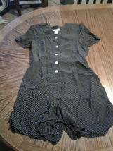 Vintage Talbots Polka Dot Dress Size 4 (cb33) - $29.45