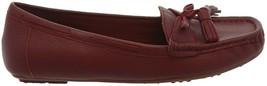 Isaac Mizrahi Leather Moccasins Tassel Wine 5M NEW A310545 - $29.68