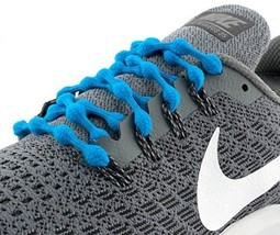 Caterpy Laces - The Ultimate No Tie Shoelaces (Tropical Blue) - $30.30