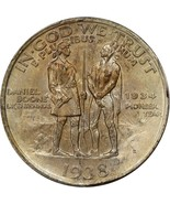 1938-S Boone Commemorative Silver Half Dollar - PCGS MS 66 - Mint State 66 - ₹47,746.38 INR