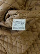 Vintage Women Long Suede Leather Fur Trim Coat Full Length Brown 70s Trench Belt image 8