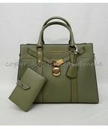 SET Michael Kors Nouveau Hamilton Large Satchel/Shoulder Bag + Wallet in... - $299.00