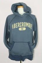 Abercrombie Girls Blue Long Sleeve Pullover Hoodie - $7.90