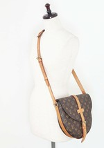 Authentic LOUIS VUITTON Chantilly GM Monogram Canvas Shoulder Bag #29105 - $439.00
