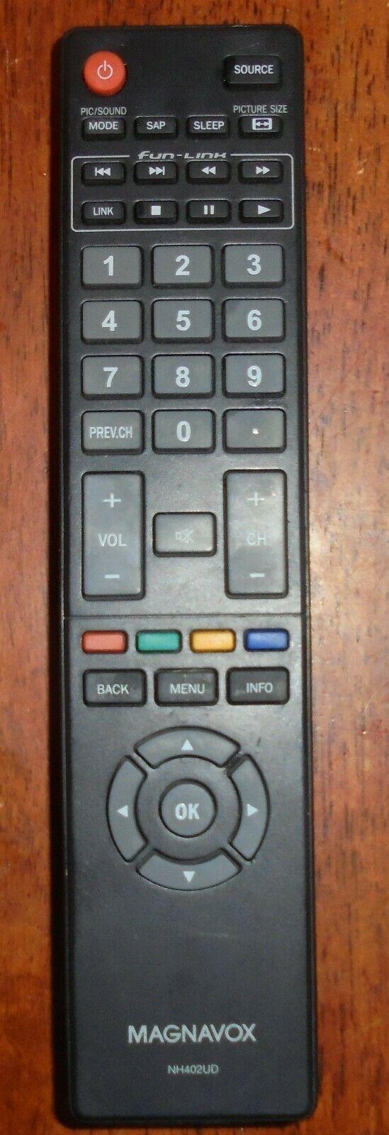 Genuine Magnavox NH402UD Remote Control for 39ME413V/F7, 46ME313V/F7, 50ME313V/F