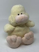 Ty Pluffies Tylux Plush Puddles the Yellow Duck 2002 Beanie Stuffed Animal - $14.85