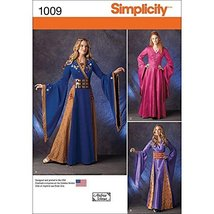 Simplicity Creative Patterns US1009HH Misses Fantasy Costumes, Size HH (... - $13.23
