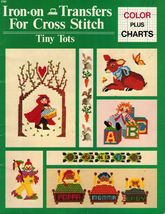 Tiny Tots Mother Goose Nursery Rhymes Iron On Transfers Cross Stitch Pat... - $14.99