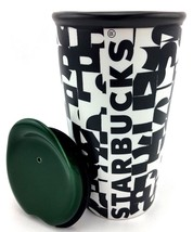 "Starbucks ""Letters"" Ceramic Double Wall Traveler/10 oz/295ml - $29.95"