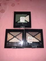 3 Rimmel Glam Eyes Quad Eye Shadow 019 *750 *002 1 Broken *see Photos - $10.88