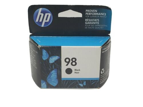 HP 98 Black Ink Cartridge Factory Sealed Exp OCT 2017 - $17.64