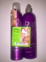 Tigi Bed Head Very Berry Whipped Mousse Body Lotion. 8.6 oz with Free Body Wash - $12.00