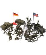 Kids World War II Combat Force 38 Piece Toy Soldier Play Set - $12.99