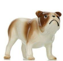 Hagen Renaker Miniature Dog Bulldog Brown and White Ceramic Figurine image 3