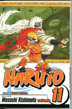 Naruto 11 Impassioned Efforts Masashi Kishimoto Manga Graphic Novel Shon... - $5.00