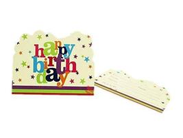 PANDA SUPERSTORE Happy Birthday Invitation Cards for Kid Party Invites 24 PCS