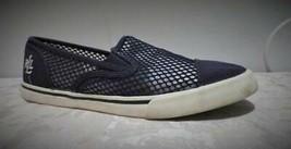 $44.00 Lauren Ralph Lauren Janis II Cotton Mesh women's sneakers US 6.5,... - $21.43