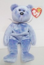 """1999 TY Beanie Babies """" Clubby 2"""" the Bear : PE Pellets : China Made {3157} - $3.95"""