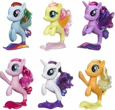 My Little Pony x 6 Seapony Twilight Sparkle Rainbow Dash Pinkie Pie Rari... - $92.04