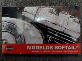 2010 Harley Davidson Softail Bedienungsanleitung Fabrik Oem Buch Spanische - $39.74