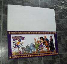 Disney Hunchback Of Notre Dame Litho Disney Store Exclusive June 21-23 1996 - $17.99