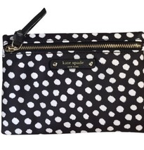 f403fc6928 Kate spade Small Drewe WLRU3127 wilson Road Musical Dots Black Cosmetic Bag  NWT -  59.40