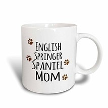"""3dRose mug_154114_1 """"English Springer Spaniel Dog Mom Doggie by breed br... - $23.09"""
