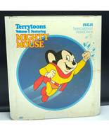 SELECTAVISION VIDEO DISC 1981 videodisc movie rca ced Mighty Mouse terry... - $39.55