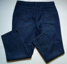 NWT Style and Co Denim Straight Leg 18W Mid Ankle Dark Wash Jeans (Abt 4... - $27.88