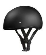 Daytona Helmets Motorcycle Half Helmet Skull Cap- Dull Black XL - $49.50