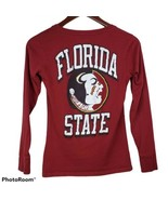 Champion Florida State Seminoles Womens Tshirt XS Red Graphic NCAA College  - $24.99