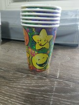Celebrate Party Cups 6 Cups Smiley Face and Stars. 6-8oz. - $7.87