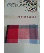 Mens ALFANI Spectrum Pocket Square, Gigham Style - $10.77